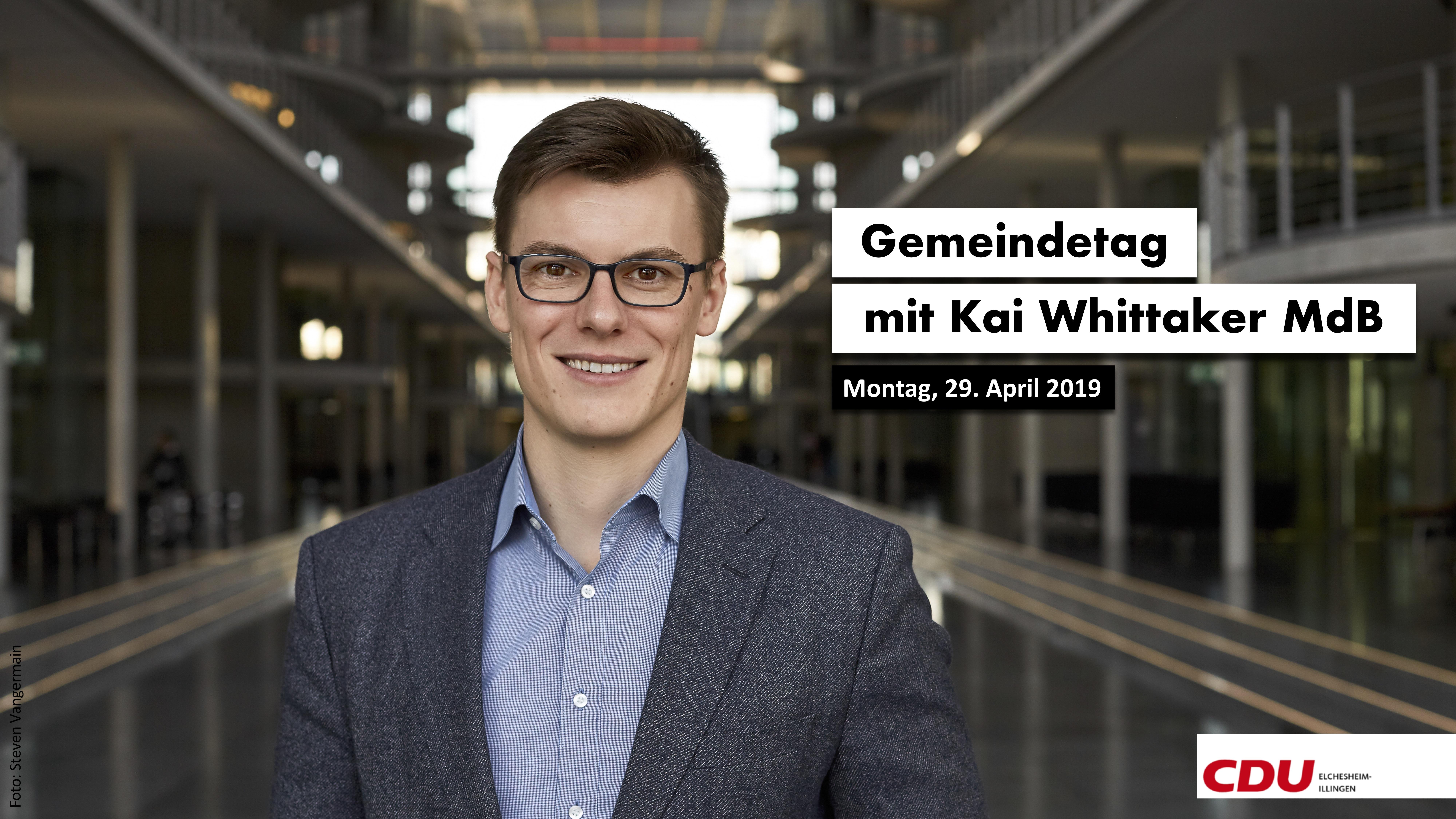 Gemeindetag mit Kai Whittaker MdB