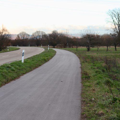 Bau eines Fahrradwegs nach Bietigheim