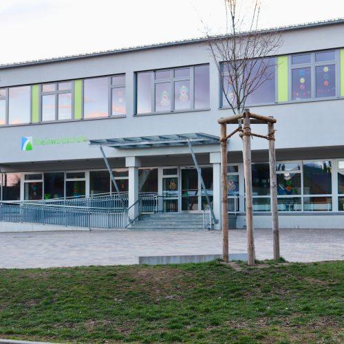 Renovierung der Rheinwaldschule und Ausbau zur Ganztagsschule