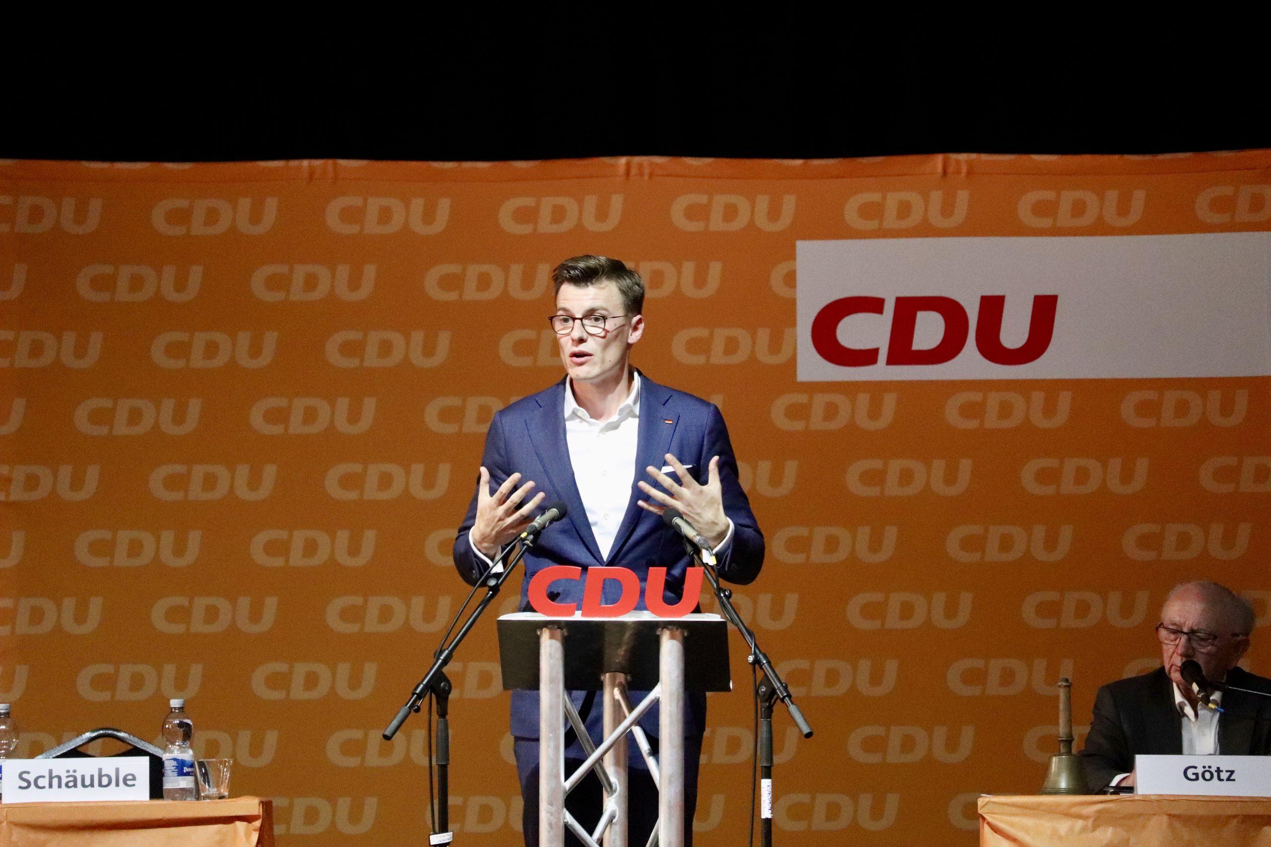 Kai Whittaker ist CDU-Bundestagskandidat