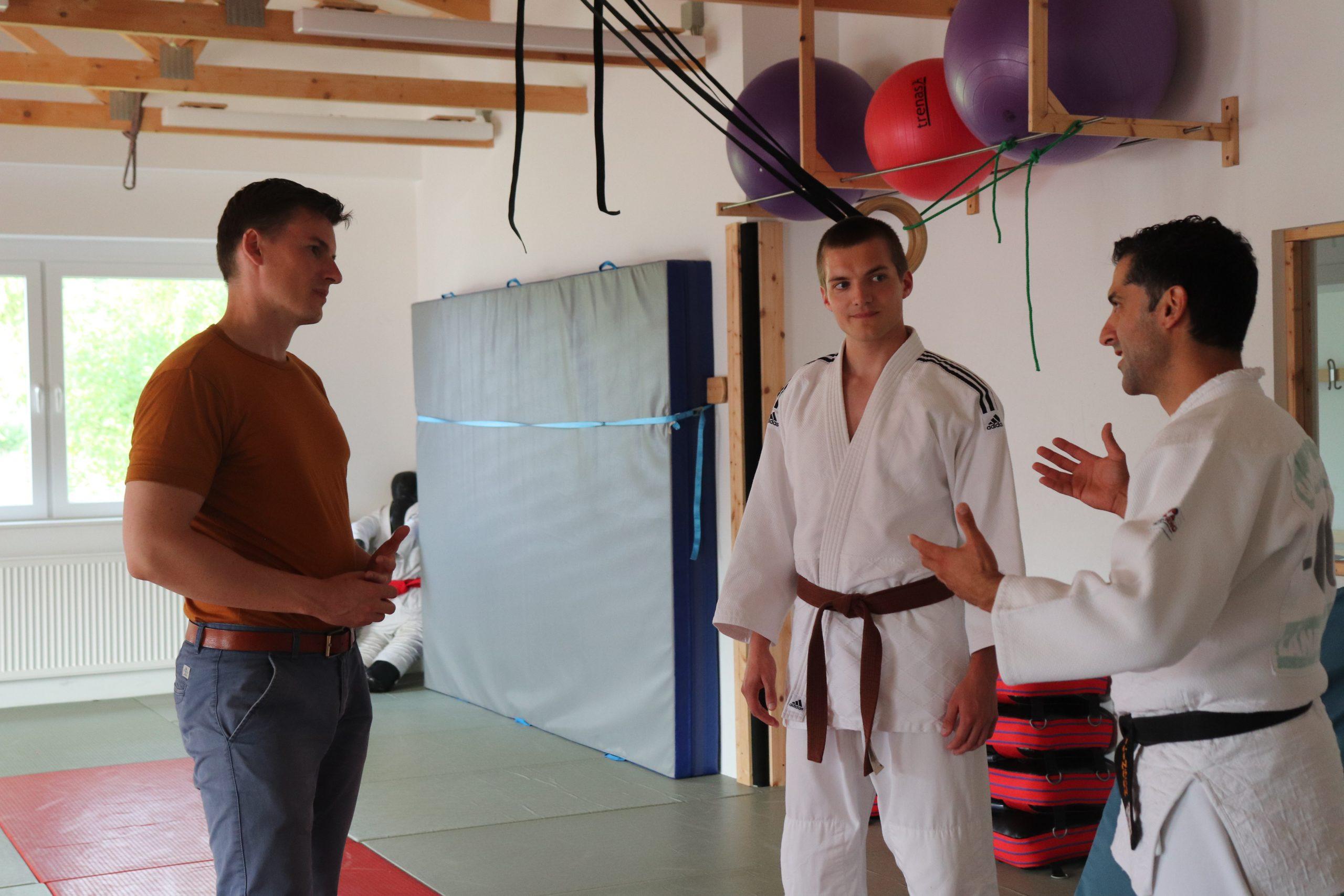 Judo-Club schickt Kai Whittaker auf die Matte